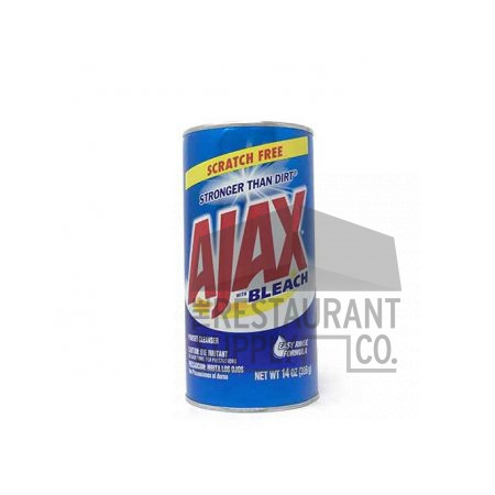 Ajax With Bleach 14oz