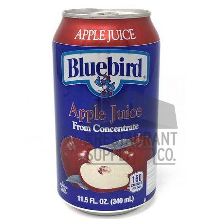 Bluebird Apple Juice 11.5oz 24ct