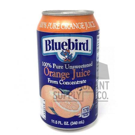 Bluebird Orange Juice 11.5oz 24ct