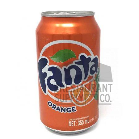 Fanta Orange 12oz