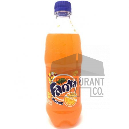 Fanta Orange Bottle 20oz Soda 24ct