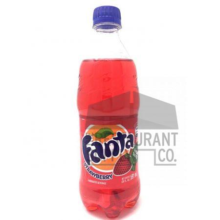 Fanta Strawberry Soda Bottle 20oz 24ct