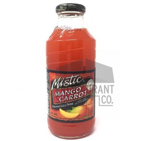 Mistic Juice 16oz Mango Carrot