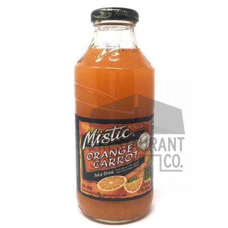 Mistic Juice 16oz Orange Carrot 12ct
