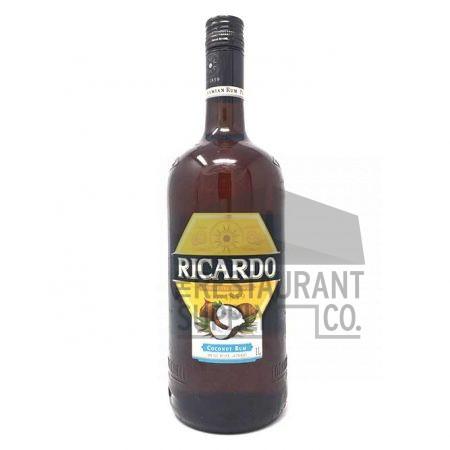 Ron Ricardo Coconut Rum Liter 12ct