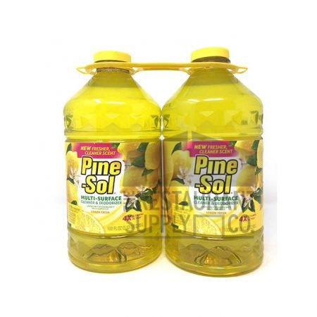 Pine-sol Lemon 100oz 2pk