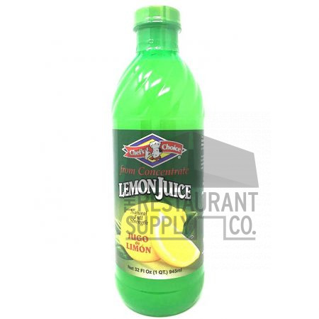 Chef Choice Lemon Juice 32oz