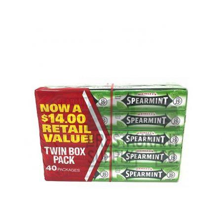 Spearmint Gum 40 pk
