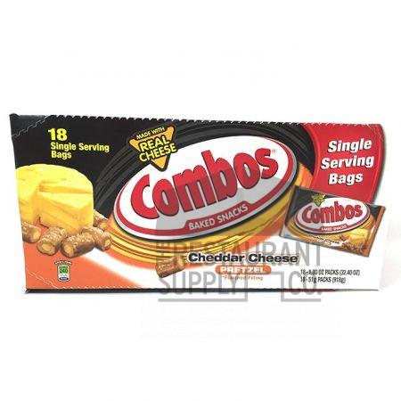Combos Cheddar Cheese Pretzel 18ct