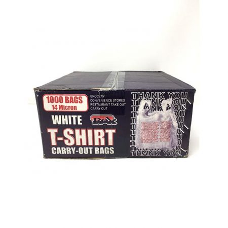 Rex White t-shirt Bags