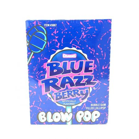 Blue Razz Blow Pops