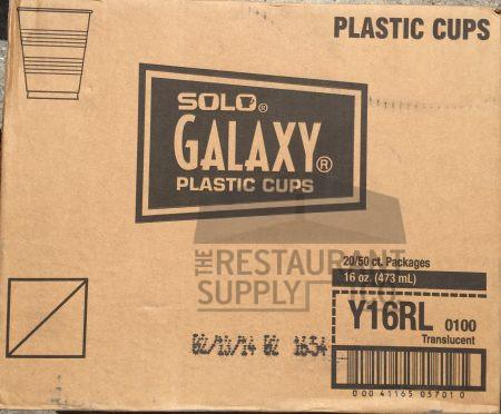 Galaxy 16oz Plastic Cups 50ct