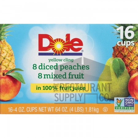 Dole Mixed Fruit Cups 16ct