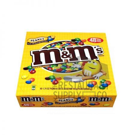 M & M Peanut 48ct