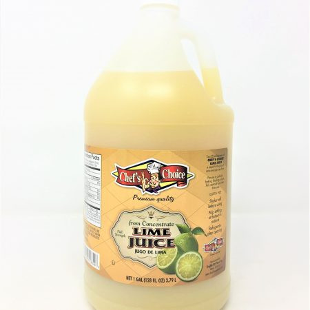 Chef Choice Lime Juice 1 gal