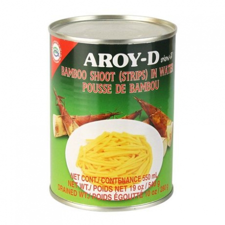 Aroy-D Bamboo Shoot Strips In Water 19oz