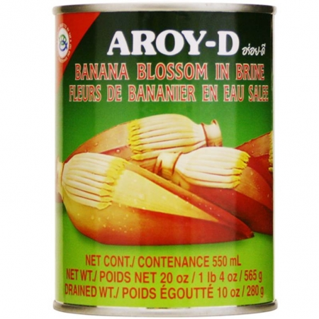 Aroy-D Banana Blossoms In Brine 20oz