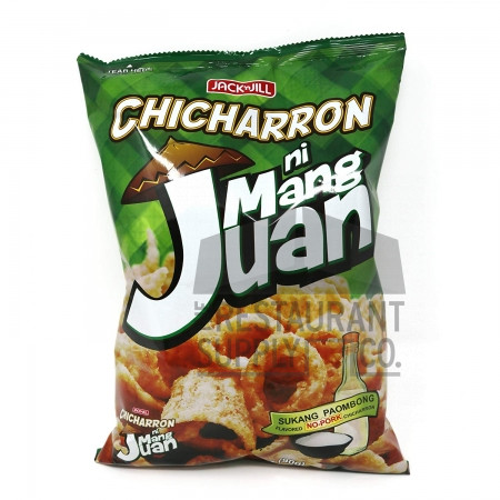Jack & Jill Mang Juan Chicharron Sukang Paombong 3.17oz