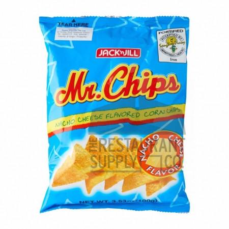 Jack & Jill Mr. Chips Nacho Cheese 3.53oz