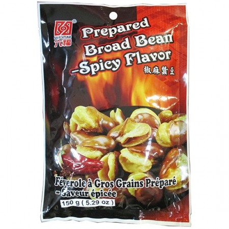 6 Fortune Spicy Broad Beans 5.29oz