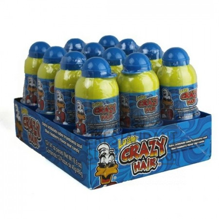 Crazy Hair Blue Razz Candy 12ct
