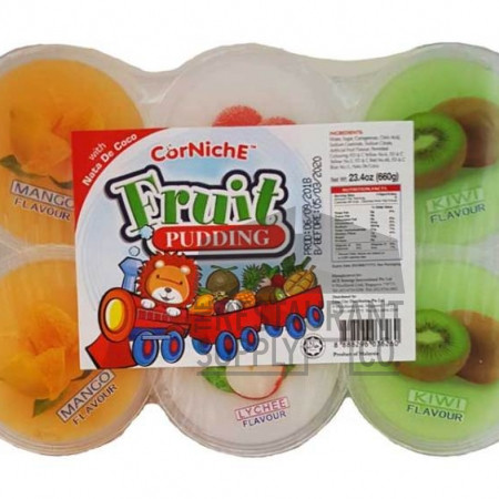 Corniche Fruit Pudding 6pk
