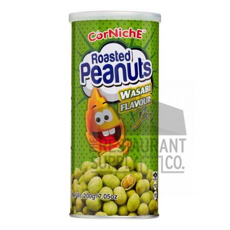 Corniche Wasabi Flavor Coated Peanuts 7oz