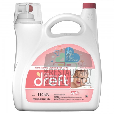 Dreft Liquid Detergent 150oz