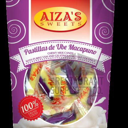 Aiza's Sweets Pastillas de Ube Macapuno 20pcs