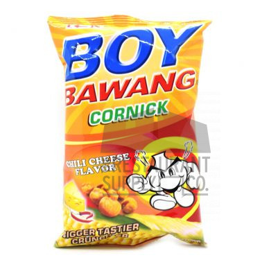 Boy Bawang Chili Cheese Cornick 100g