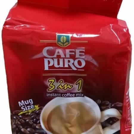 Cafe Puro 3 in 1 Coffee Mix 10ct