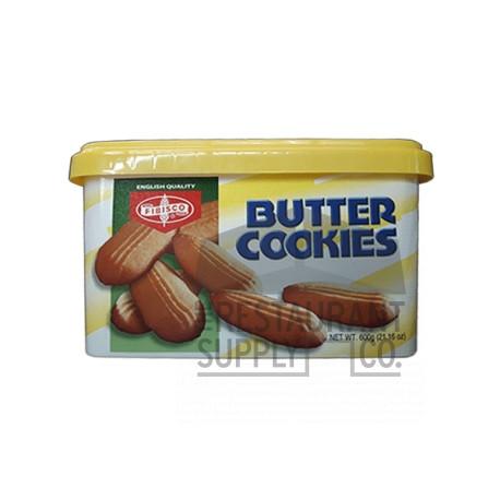 Fibisco Butter Cookies 600g