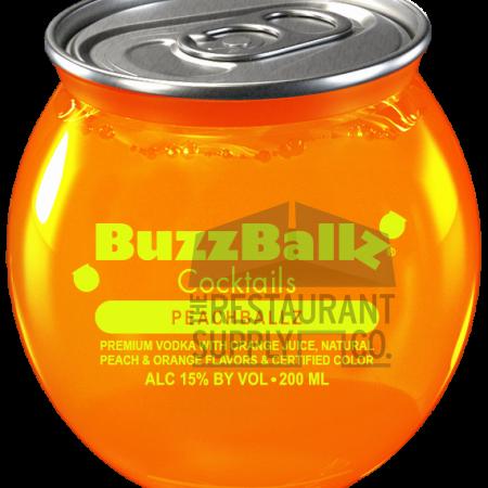 BuzzBallz Peach Ballz 200ml