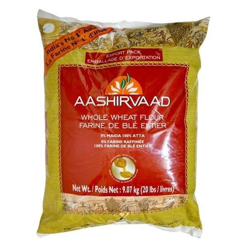 Aashirvaad Whole Wheat Flour 20lbs
