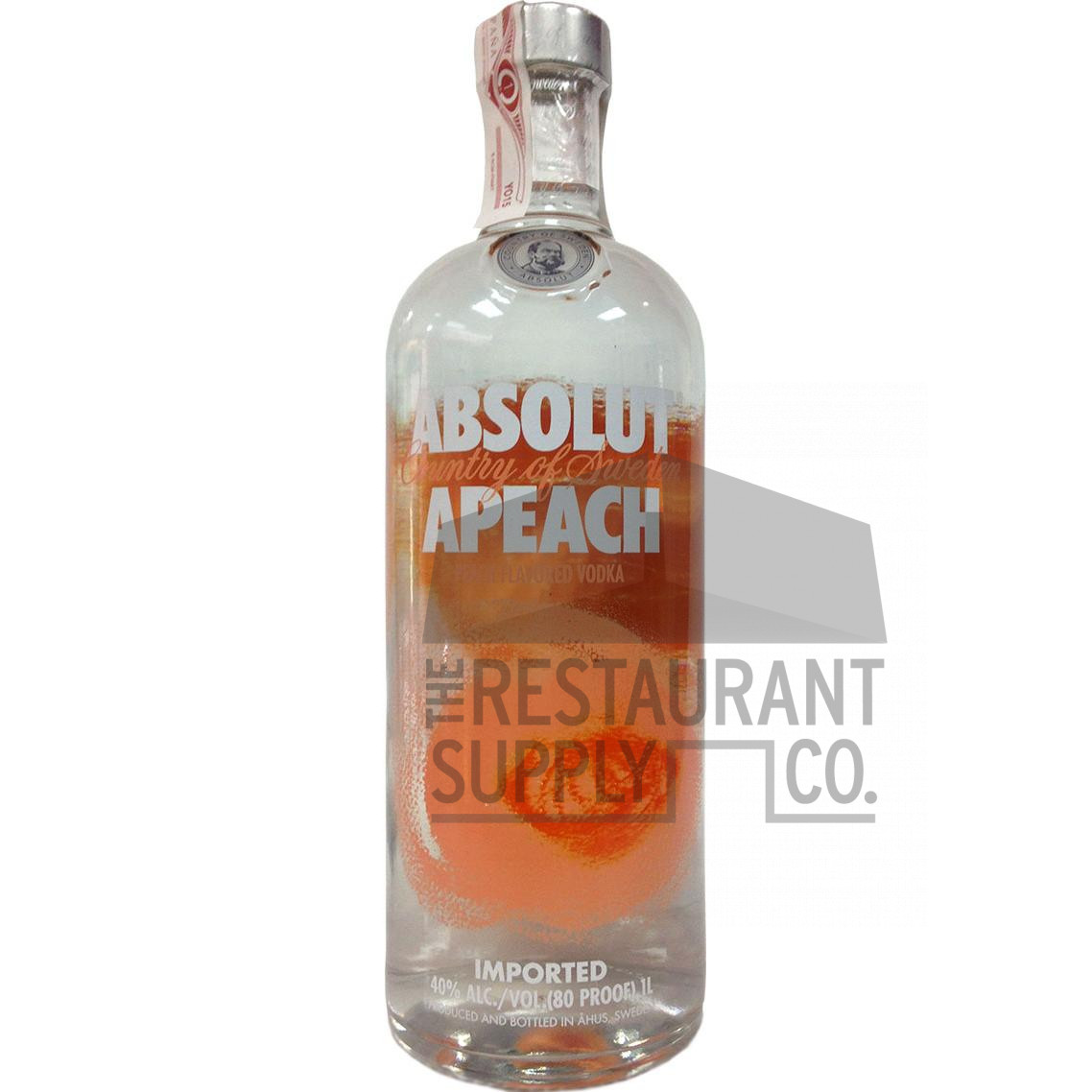 Absolut Apeach Vodka Liter