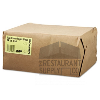 12LB Brown Paper Bags 500ct