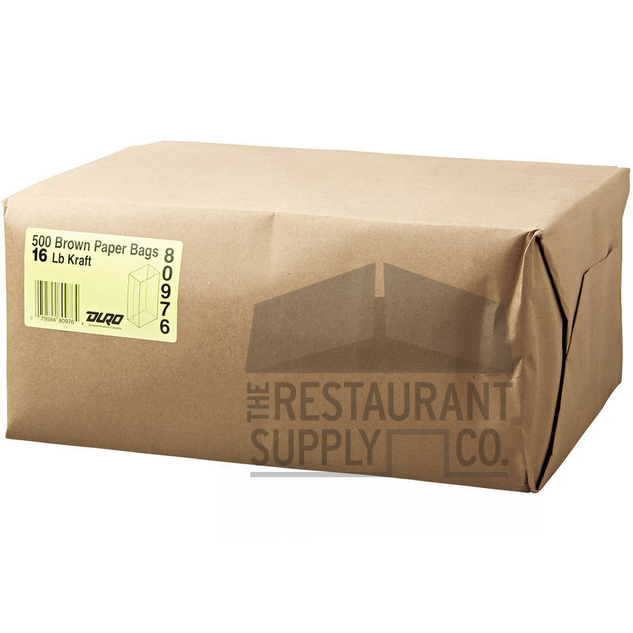 16LB Brown Paper Bags 500ct