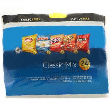 Frito Lay Classic Variety Chips 24ct