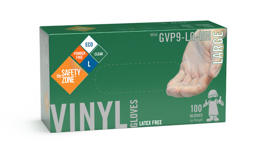 Safety Zone Large Vinyl Gloves 100ct