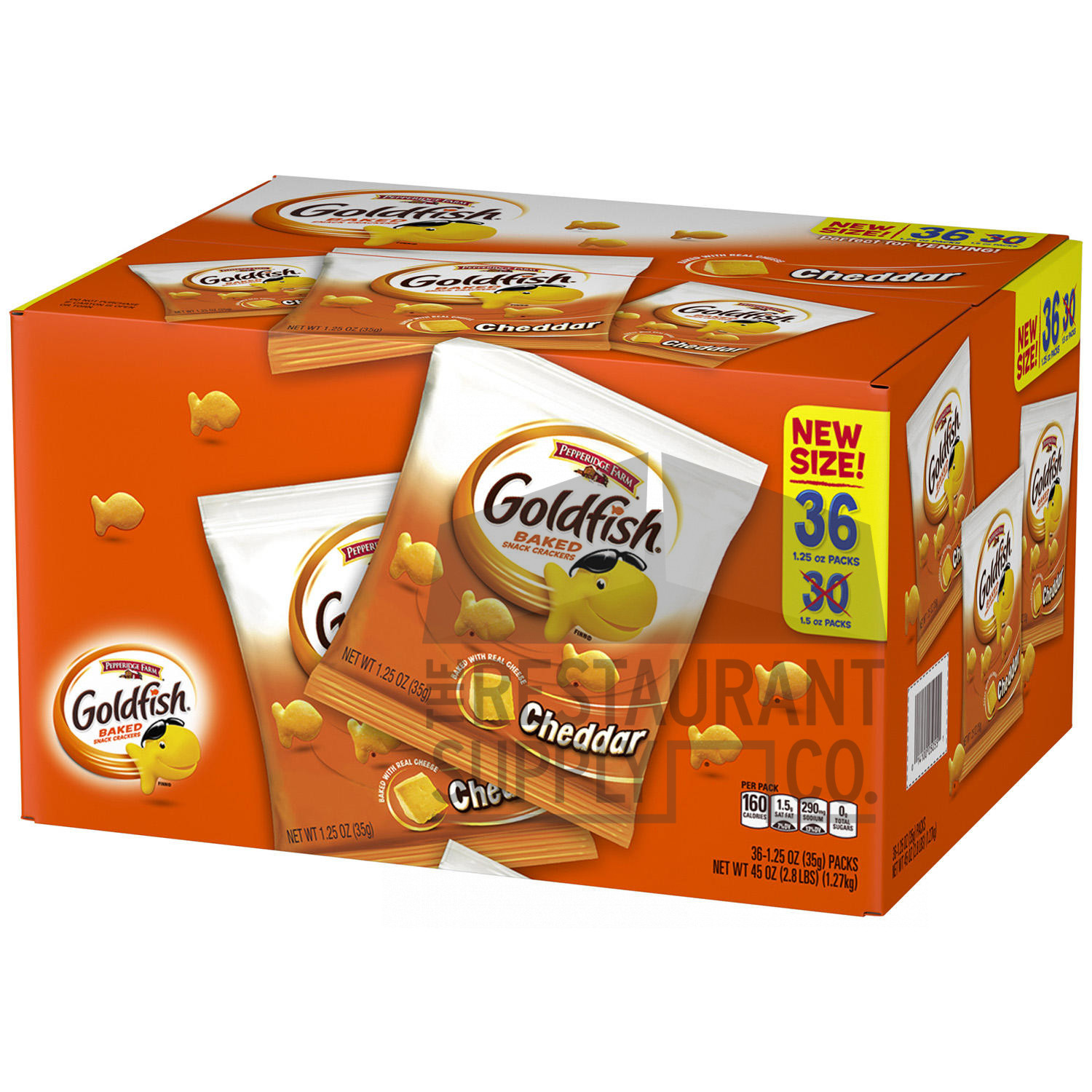 Goldfish Cheddar Crackers 36ct
