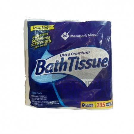 Member's Mark Bath Tissue 9pk